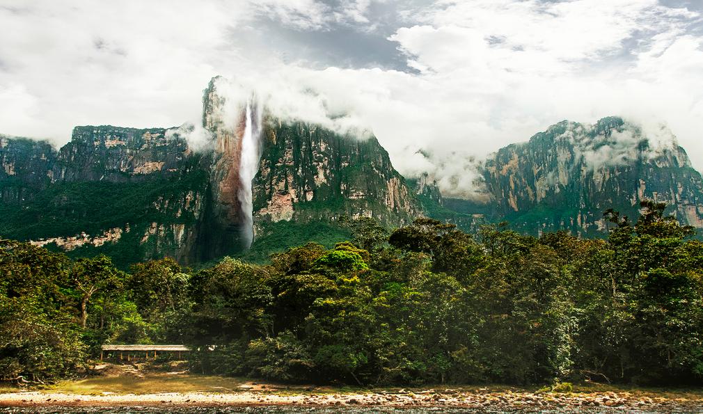 Angel Falls (Kerepakupai Merú) The highest Waterfall