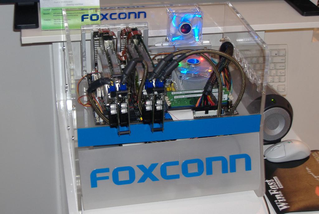 Foxconn Quad SLI Miniboard
