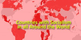 Countries with Socialism in all around the World