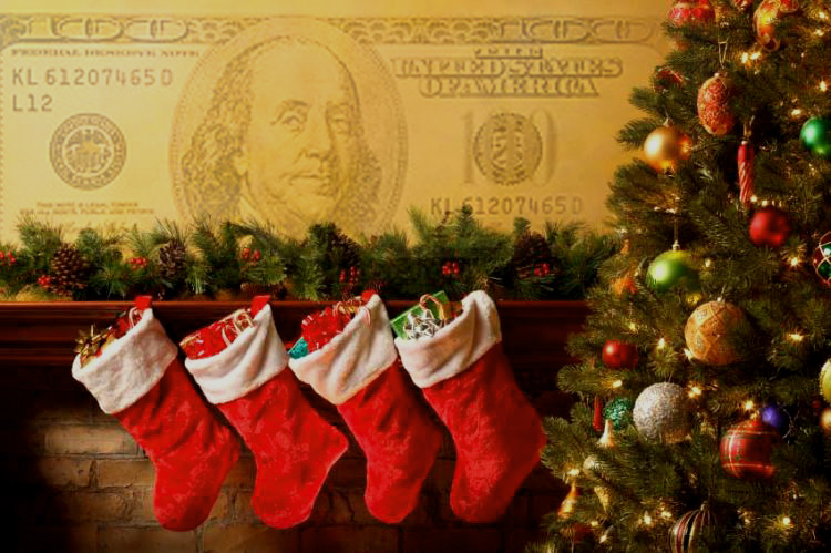 Most spending states on Christmas