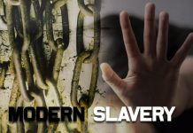 countries with modern slavery in the world